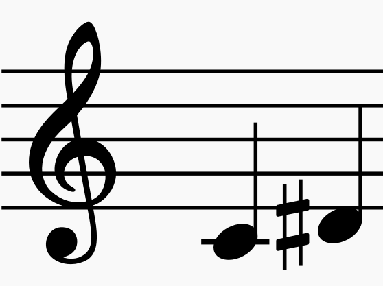 augmented second musical interval