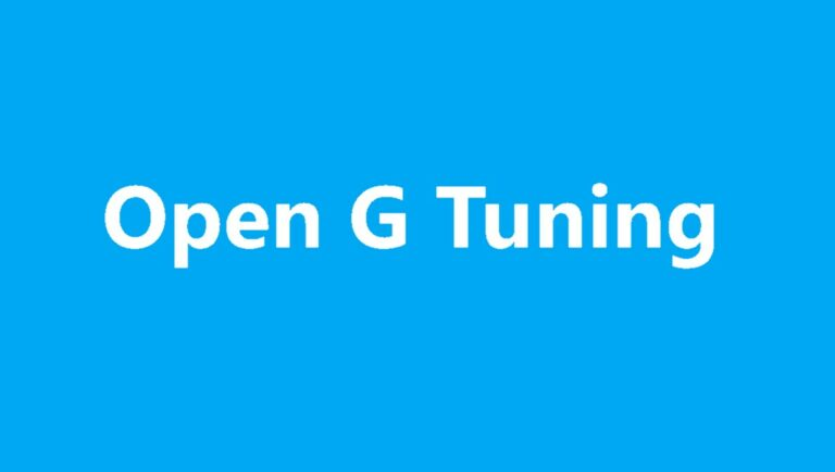 How to play guitar in Open G tuning
