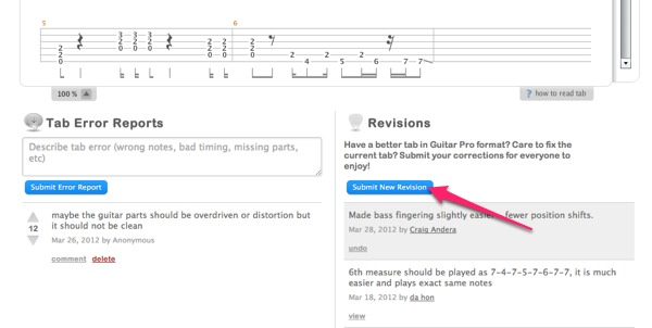 I discovered that several measures in the song I'm learning